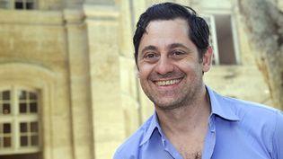 Olivier Py, nouveau directeur du Festival d'Avignon  (BORIS HORVAT / AFP)
