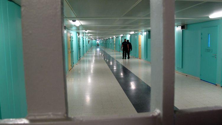 La prison de Fleury-Mérogis (Essonne) en 2012 (photo d'illustration) (LOISY FLORIAN / MAXPPP)