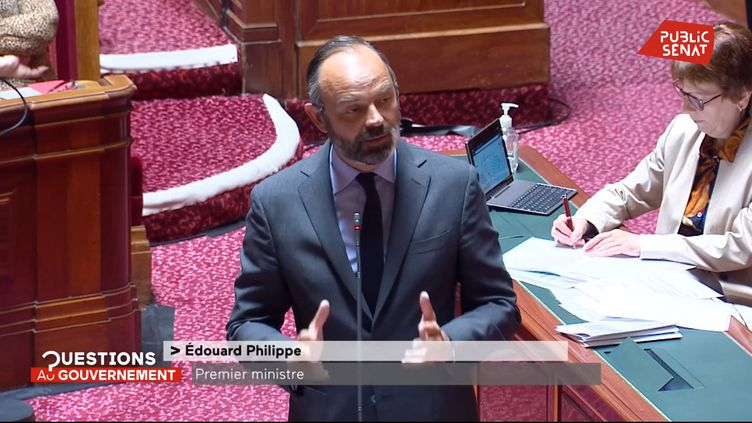 Edouard Philippe soutient les forces de l'ordre : « Le basculement de la République n'est pas si loin. » (Public Sénat)