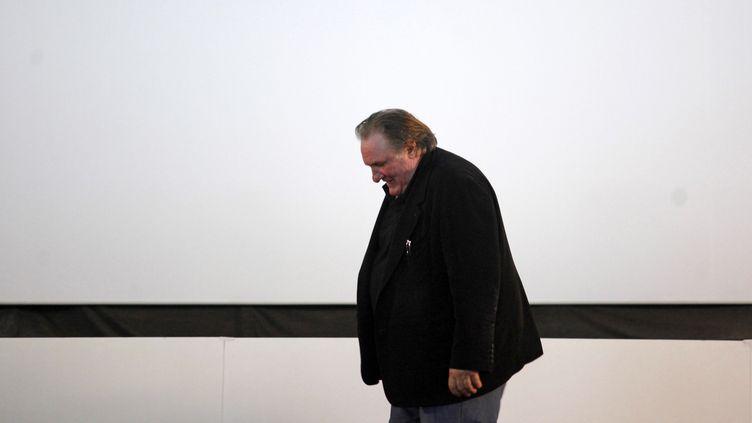 Gerard Depardieu en novembre 2016 au Portugal (ANTONIO PEDRO SANTOS / LUSA)