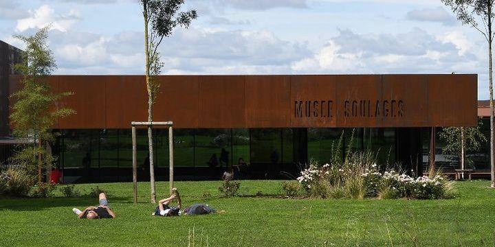 Le Musée Soulages à Rodez  (PASCAL PAVANI / AFP)