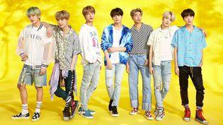 Les sept garçons coréens de BTS, le groupe phare de la K-Pop. (BIG HIT ENTERNTAINMENT)