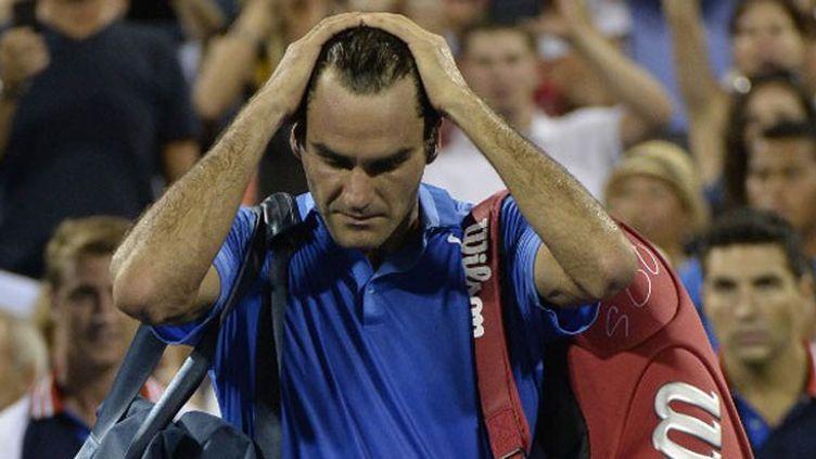 Le désarroi de Roger Federer