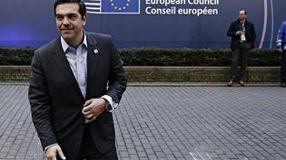 Alexis Tsipras lors d'un sommet du Conseil européen à Bruxelles, en Belgique, le 15 décembre 2016. (ALEXANDROS MICHAILIDIS / SOOC)
