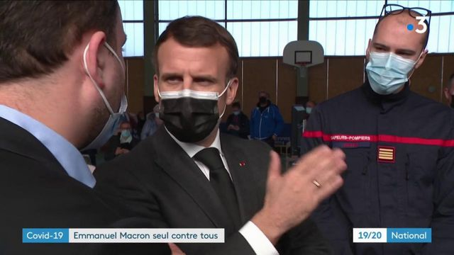 Covid-19 : Emmanuel Macron, seul contre tous