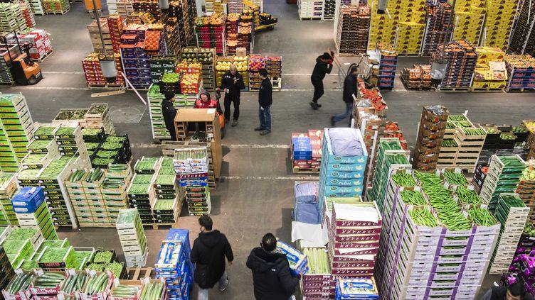 Le marché de Rungis. Photo d'illustration. (VINCENT ISORE / MAXPPP)