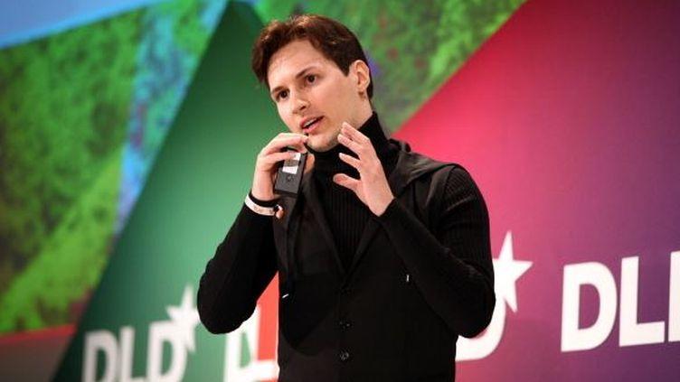 Le fondateur de Vkontakte, Pavel Dourov, le 24 janvier 2012 à Munich (Allemagne). (GETTY IMAGES)