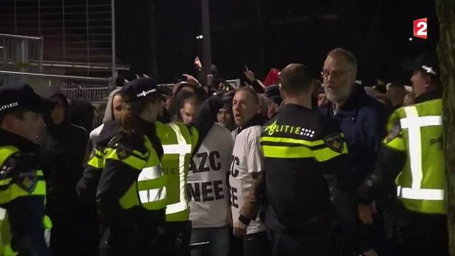 Pays-Bas : des manifestants refusent l'ouverture d'un centre pour migrants