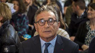 Guy Novès, le 14 février 2019. (ERIC CABANIS / AFP)