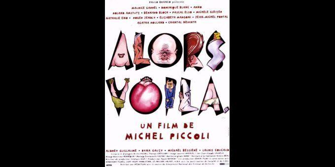"""Affiche du film """"Alors voilà"""", de Michel Piccoli (1997)  (DR)"""