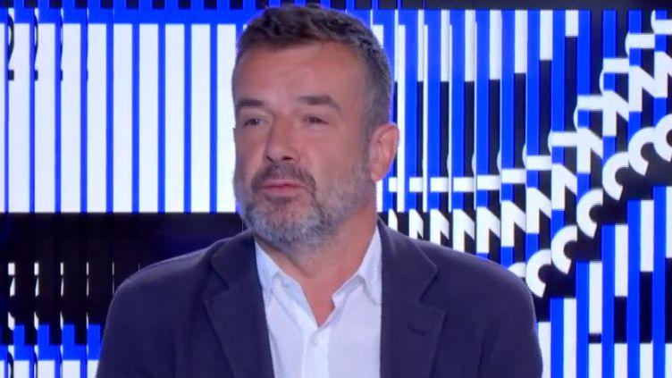 Régis Le Sommier. (FRANCEINFO)