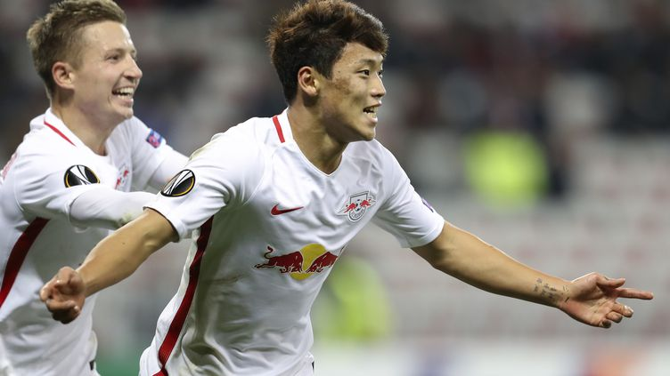 Le Sud-Coréen de 20 ans Hwang a été le bourreau d'une équipe niçoise décevante. (VALERY HACHE / AFP)