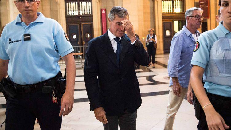 L'ancien ministre du Budget Jérôme Cahuzac, le 8 septembre 2016 au palais de justice de Paris. (MAXPPP)