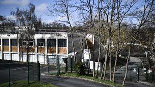 Le lycée Pont de Bois à Saint-Chéron (Essonne), le 23 février 2021. (STEPHANE DE SAKUTIN / AFP)