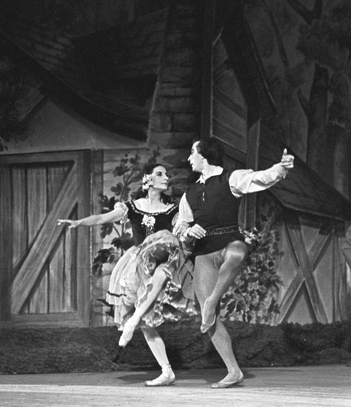 "Alicia Alonso danse le ballet ""Giselle"". (YURIY SOMOV / SPUTNIK)"