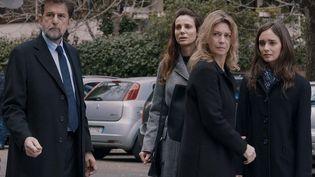 "Nanni Moretti, Denise Tantucci et Margherita Buy dans ""Tre Piani"" deNanni Moretti (2021). (ALBERTO NOVELLI)"