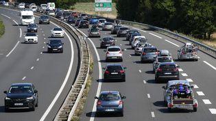 L'autoroute A11 dans le sens Angers-Paris, le 22 août 2019. (MAXPPP)