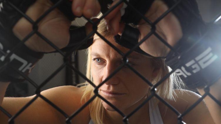 La combattante française de MMA Manon Fiorot (SEBASTIEN BOTELLA/PHOTOPQR/NICE MATIN/MAXPPP)