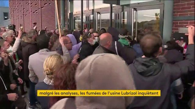 Rouen : la tension monte après l'incendie l'usine Seveso de Lubrizol