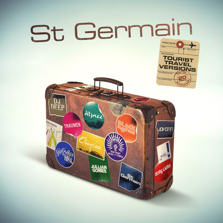 "Le visuel de l'album de remixes ""Tourist Travel Versions"", célébrant les 20 ans de l'album ""Tourist"" de St Germain. (PARLOPHONE)"
