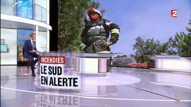 Incendies : le sud de la France toujours en alerte