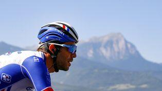 Thibaut Pinot sur le Tour de France, jeudi 25 juillet 2019, à Valloire (Savoie). (BETTINI LUCA / BETTINIPHOTO / AFP)