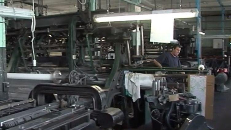Calais : un fabricant de dentelle sauvé (FRANCE 3)
