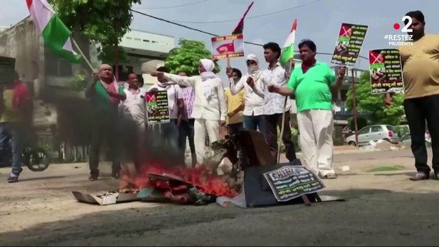 Conflits : incident entre des soldats indiens et chinois