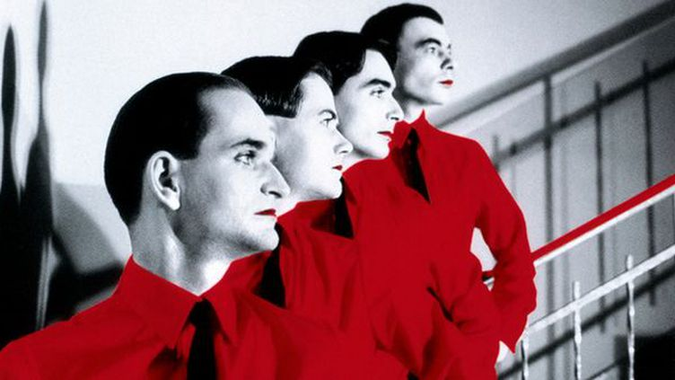 Kraftwerk, pionniers de la musique électronique dès le début des années 70.  (Droits réservés)