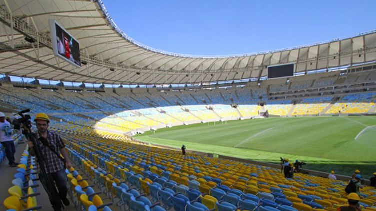 Le Maracana, à Rio de Janeiro (ALEXANDRO AULER / AG?NCIA LANCEPRESS!)