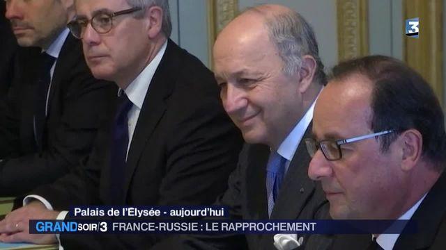 Syrie : Moscou et Paris s'allient contre Daech depuis les attentats de Paris