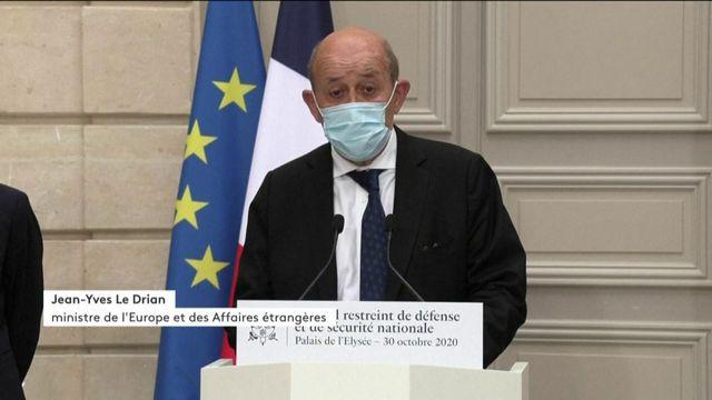 """Terrorisme : """"La menace, elle est partout"""", prévient Jean-Yves Le Drian"""