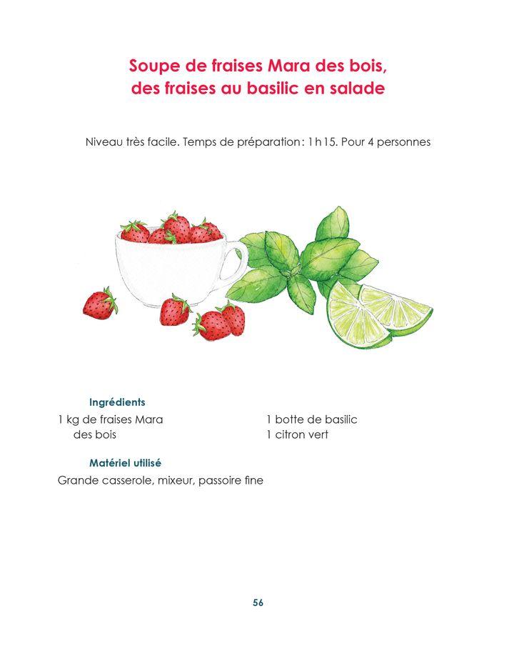 """""""Soupes de printemps"""", de Guy Savoy avec Alexis Voisenet, page56 (@Laura Merle / Editions Hersher)"""