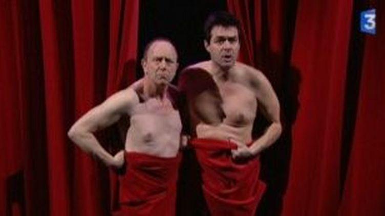 """Les """"Diablogues"""" sur la scène du Taps Scala  (Culturebox)"""