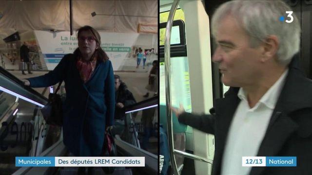 Municipales : des députés LREM briguent le fauteuil de maire