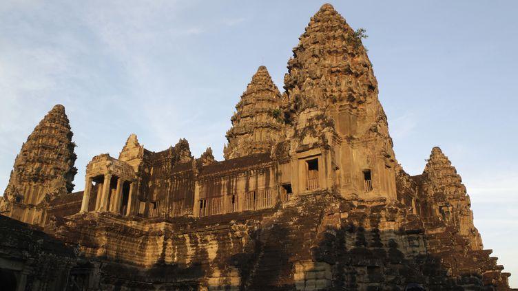 Angkor Vat,ensemble de temples qui constitue un lieu de pélerinage mondialement connu, au Cambodge, photographié le 22 décembre 2015. (ERIK DE CASTRO / REUTERS )