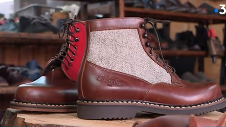 Made in France : un fabricant de chaussures béarnais se lance à l'international (France 3)