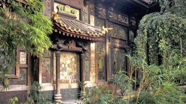 La façade de la Pagode est classée aux Monuments historiques  (Herv Gyssels / AFP)