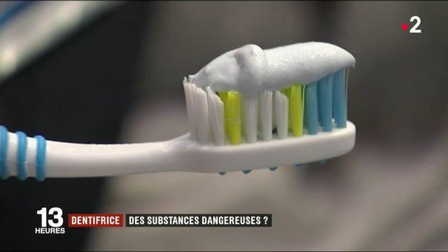 Dentifrice : des substances dangereuses ?