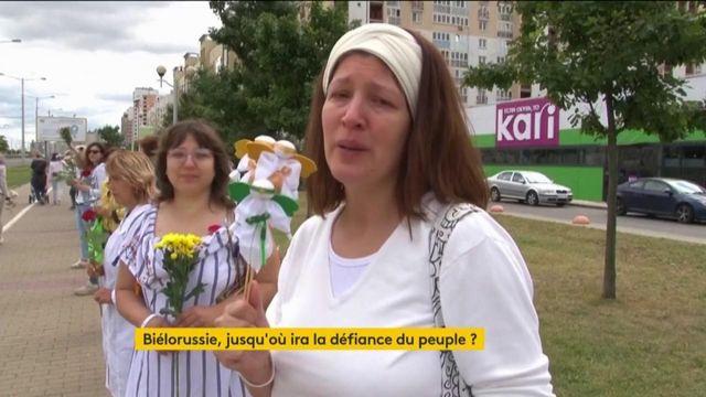 Biélorussie : le rôle des femmes dans la contestation
