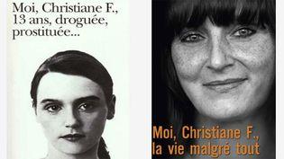 """Moi, Christiane F."" en 1978 et en 2013  (Folio  et Flammarion)"
