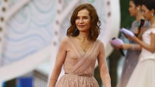 Isabelle Huppert, décembre 2018  (Xiao feng / Imaginechina / AFP)