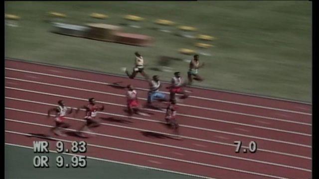 100 m Jonhson