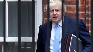 Le Premier ministre britannique Boris Johnson quitte Downing Street, à Londres, le 9 septembre 2019. (TOBY MELVILLE / REUTERS)