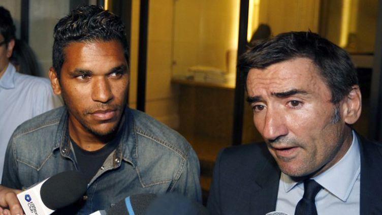 Brandao a décidé de faire appel de sa sanction selon son avocat. (FRANCOIS GUILLOT / AFP)