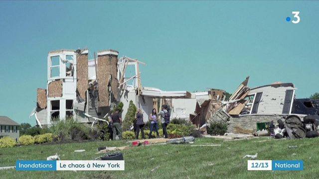 Inondations : New York et le New Jersey en plein chaos