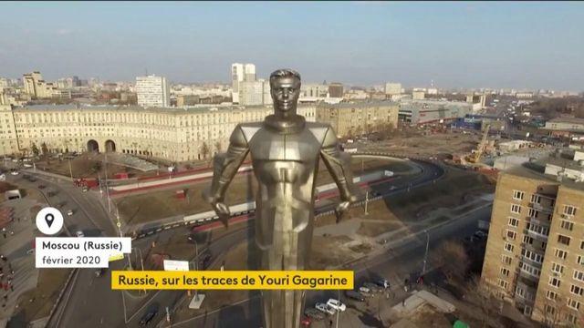 Russie: Youri Gagarine, un héros de la conquête spatiale toujours aussi populaire