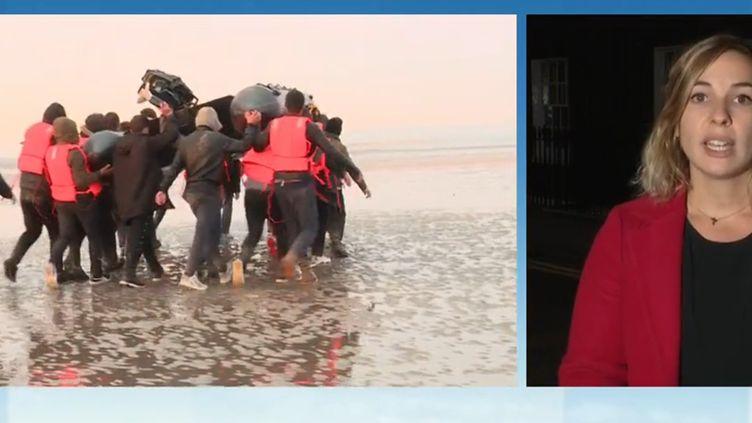 Migrants : le bras de fer entre la France et l'Angleterre enfin terminé ? (FRANCE 3)