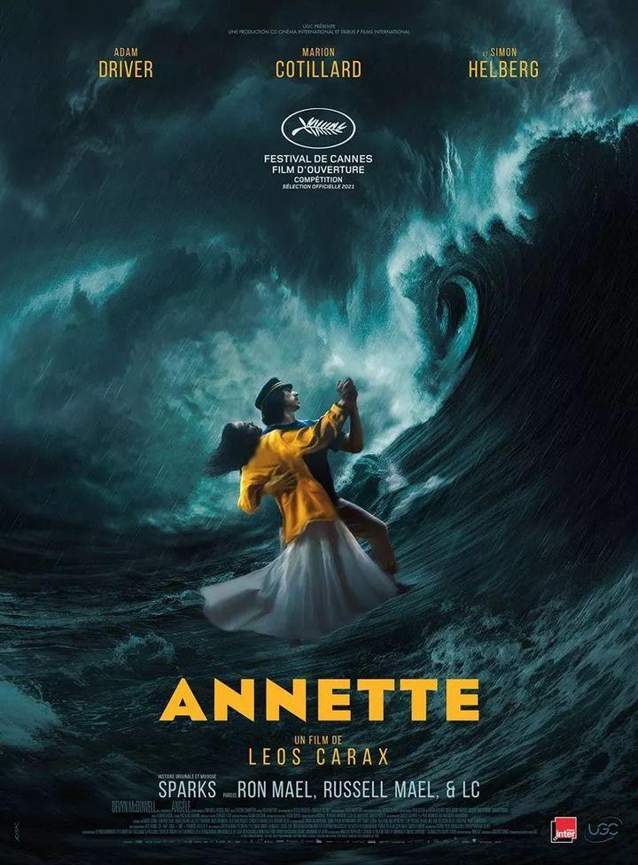 """L'affiche de """"Annette"""" de Léos Carax (2020). (UGC DISTRIBUTION)"""