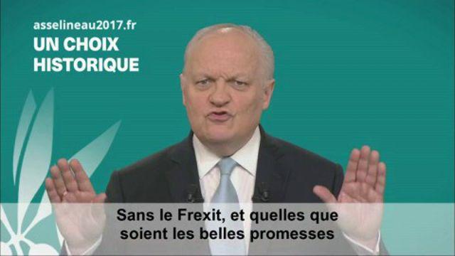 VIDEO. Clip de campagne de François Asselineau